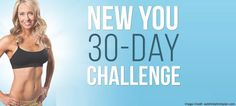 Begins March 6, 2017: The next New You 30-Day Challenge hosted by Danette May. Claim a spot before they're gone!