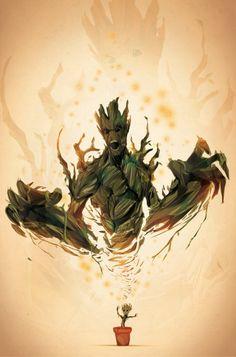 #Groot - #LesGardiensDeLaGalaxie - #GuardiansOfTheGalaxy - Justin Currie