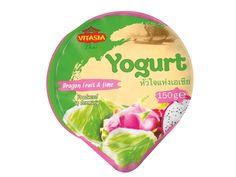 LIDL - Yogurt, 0.49 € [ananas e zenzero, dragonfruit e lime, lichi e fior di sambuco, arancia e fico d'india] - dal 17.07 fino a esaurimento scorte #ginger #lychee #elderflower #prickly #pear