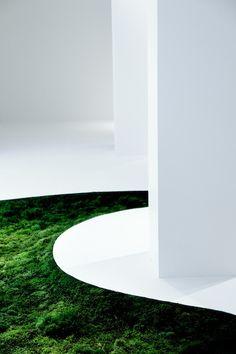 """Time of Moss"" | ""Tokyo Fiber '09 Senseware • Makoto Azuma"