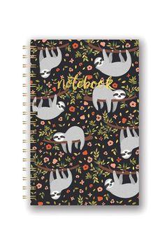 Studio Oh Sloth Notebook
