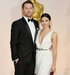 Jenna Dewan and Channing Tatum Oscars 2015
