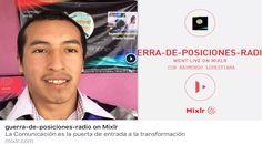 Acompáñe a Raymundo Lopeztiana a partir de hoy todos los domingos desde las 14:00 hrs MÉX  Cuestionemos los acontecimientos más importantes que acontecieron en la semana  #GuerradePosiciones por #Mixlr  Mixlr.com/guerra-de-posiciones-radio