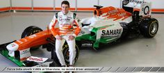 Force India unveils VJM06 at Silverstone no second driver announced