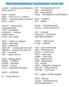 Базовый английский English Study, English Words, English Lessons, English Grammar, Learn English, English Language, Russian Language Learning, Language Study, New Things To Learn