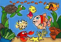 Histórias Evangelísticas - Pipoca, O Peixinho Encrenqueiro