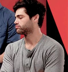 The many expressions of Mattthew Daddario. Love it!
