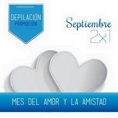 Por el mes del amor y amistad, te quiero hacer un regalo en depilación: Paga un paquete en cualquier área y obtendrás completamente gratis el mismo paquete para otra persona. Llámame al tel. (4) 3218567 #DraPilarOchoa #BellezaSaludable www.mdpilarochoa.com