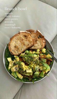 Think Food, I Love Food, Good Food, Yummy Food, Healthy Snacks, Healthy Eating, Healthy Recipes, Plats Healthy, Food Goals