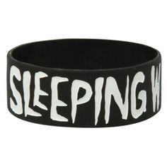 Best Bracelet 2017/ 2018 : Sleeping With Sirens Anchor Rubber Bracelet | Hot Topic ($5.60)  liked on Pol