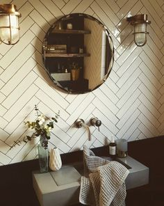 Simon continues to dominate your bathrooms! Rebecca from Malmo & Moss has coordinated hers with herringbone tiles to give this bathroom an ultra chic vibe. Check out her instagram page here (full of interior goals!) https://www.instagram.com/malmo_and_moss/