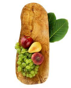 Obstschale aus Olivenholz 50 cm   treevoli