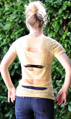 DIY t-shirt ideas - going to make some workout shirts like this
