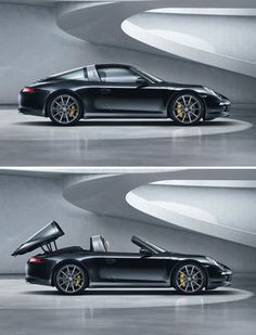 """Porsche 911 Targa 2015. My """"grind reward"""" car of choice...if that's what I was about at this moment...it would definitely be in my driveway by summer 2015."""