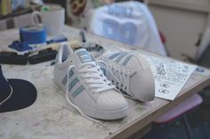 Krooked x Mark Gonzales x adidas Skateboarding Superstar Vulc Adidas  Sneakers e38359a66