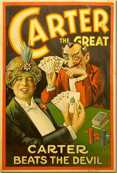 Magician Posters vintage