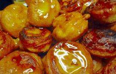 Νηστίσιμες κρητικές τηγανίτες ή κουταλίτες Greek Cooking, Pretzel Bites, Truffles, French Toast, Deserts, Dessert Recipes, Sweets, Bread, Baking