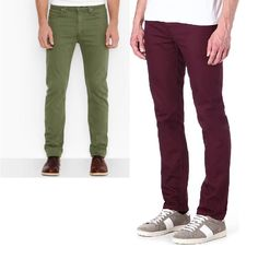 Details about Stafford Straight leg colored Denim Jeans men's ...