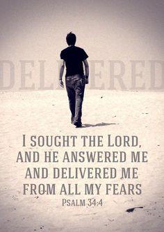 #Psalm 34:4