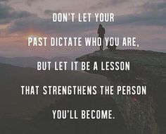 Learn & let go.