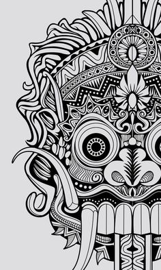 Pin by rav mariñez on skull art in 2019 mask drawing, tattoos, tattoo desig Arte Tribal, Aztec Art, Tattoo Gesicht, Graffiti, Mask Drawing, Drawing Tattoos, Dragons, Art Premier, Animal Tattoos
