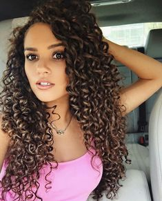 Elegant curly hairstyles for long hair in 2019 макияж для волос, curly Curly Hair Styles, Long Curly Hair, Big Hair, Medium Hair Styles, Natural Hair Styles, Permed Hairstyles, Braided Hairstyles, Night Hairstyles, Fashion Hairstyles