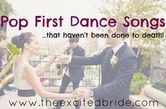 Wedding songs - pop music that hasn't been overdone!