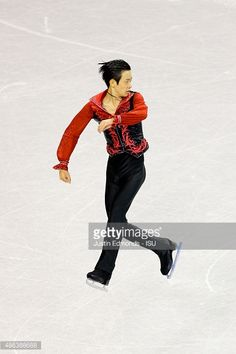Sota Yamamoto of Japan skates during the junior mens short program at World Arena on September 3, 2015 in Colorado Springs, Colorado.