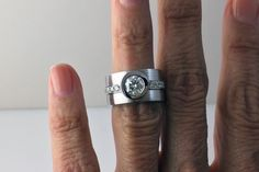 Custom-Round-Bezel-Diamond-Ring-Stack