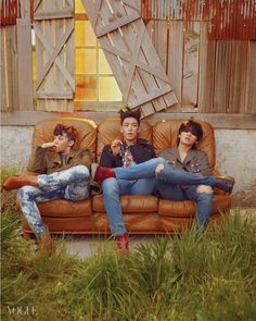 G-Dragon, TOP, and Daesung - Vogue Magazine July Issue '15