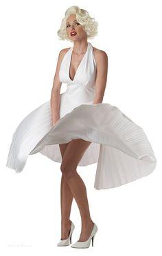 Marilyn Monroe Dress https://www.dresscostume.com/decades/50s-costumes.html
