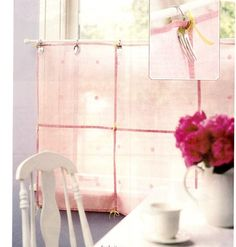fork and spoon curtain rings