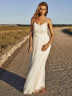 Wedding Dresses by Grace Loves Lace - 140320 Grace Loves Lace, Boho Chic, Bohemian, Chantilly Lace, Lace Bodice, Formal Dresses, Wedding Dresses, Lace Dresses, I Dress