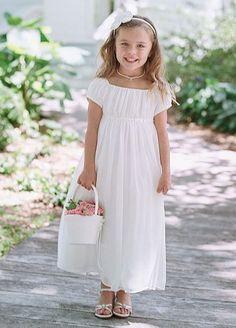 Completely adorable little boho #flower #girl, DB on Amazon, $109 - http://thealternativebride.com
