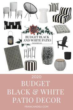 2020 Budget Black