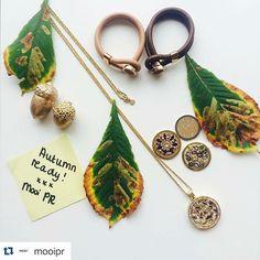 Otoño!!! ¿Ya listos? #mimoneda @mooipr ・・・ We are autumn ready with Mi Moneda Jewelry. What do you think of the typical autumn colours of Mi Moneda? #MooiPR #MiMoneda #jewelry #autumn #gold #brown #glitter #leafs #september #fashion #autumnready #moda #mimonedamx #fashion #meencanta #morethanready #instajewelry #loveit #beautiful #fashionblogger #fashionista #instajewelry #autumnready #yes #cool #avea