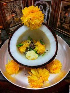 Sri Krishna Jayanthi or Krishna Janmashtami 2020 Rituals assures success in all spheres and eliminates all negative influences. Krishna Flute, Krishna Statue, Krishna Krishna, Hare Krishna, Diwali Decorations, Festival Decorations, Flower Decorations, Gauri Decoration, Decoration For Ganpati