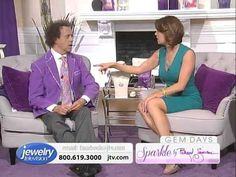 Sparkle By Richard Simmons 8/16/2013 9:00 PM - Jewelry Television - http://videos.silverjewelry.be/bracelets/sparkle-by-richard-simmons-8162013-900-pm-jewelry-television/