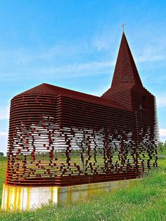 See-through church, Borgloon, Belgium | Flickr - Photo Sharing!