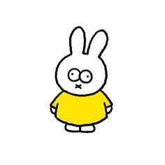 #miffy Cute Wallpaper Backgrounds, Cute Wallpapers, Character Illustration, Graphic Illustration, Miffy, Mascot Design, Simple Doodles, Cute Images, Cute Icons