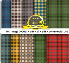 Tartan Kilt03  Scottish plaid skirt idea printable by AnOldTrumpet