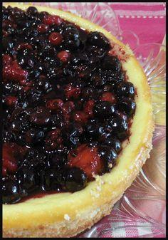 Cheesecake frutti di bosco con cottura in forno , troppo goloso ! #cheesecake #fruttidibosco #ricette #dolci #dolciitaliani #ricette #ricettegustose