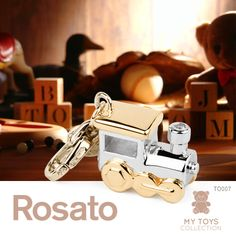 #Rosato Jewels #charm #miniaturetrain #mytoys collection