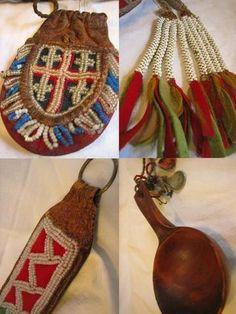 Leather Art, Leather Fabric, Lappland, Samara, Handicraft, Finland, Norway, Scandinavian, Diy And Crafts