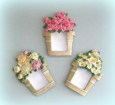 Shabby Chic Frame Picture Frame Photo Frame by afloralaffair