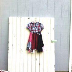upcycled romantic dress / Upcycled clothing / Patchwork Dress / Funky Tunic Dress / Eco / Artsy by CreoleSha by CreoleSha on Etsy