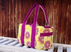 Purple & Gold Duffle Bag. Great gift for graduating senior LSU bound!! Go Tigers!!! Ready to Ship on Etsy, $70.00