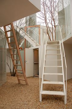 Sou fujimoto house, not sure if it's 'tiny' but it's certainly interesting!
