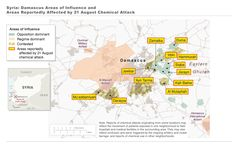 Syria Visualizations Illustrate Complexity and Division