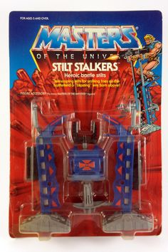 The Original Series > Stilt Stalker Best Movies Of 2019, Good Movies, He Man Figures, 80 Toys, Gaming Posters, Old School Toys, Star Wars Film, She Ra Princess Of Power, Cool Toys
